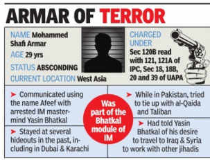 IS 'chief recruiter' held in Maharashtra