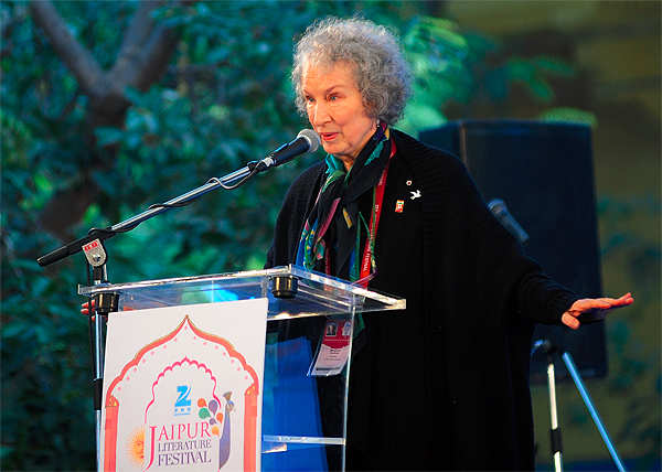 Can't write 'Mills and Boons' or fantasy books: Margaret Atwood at Jaipur Literature Festival