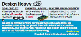 M&M to unveil sports coupe XUV Aero at Auto Expo in February