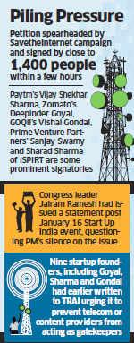 700 startups ask PM Narendra Modi to speak up on net neutrality