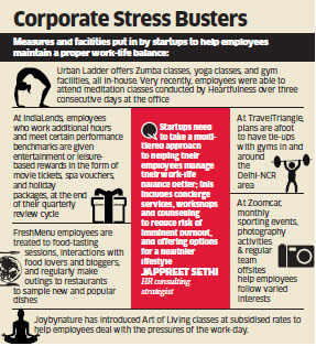 How startups like Urban Ladder, Wego and others are taking care of employees' work life balance