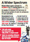 Reliance Communications raises capex outlook by Rs 1000 crore as it looks to expand 3G services