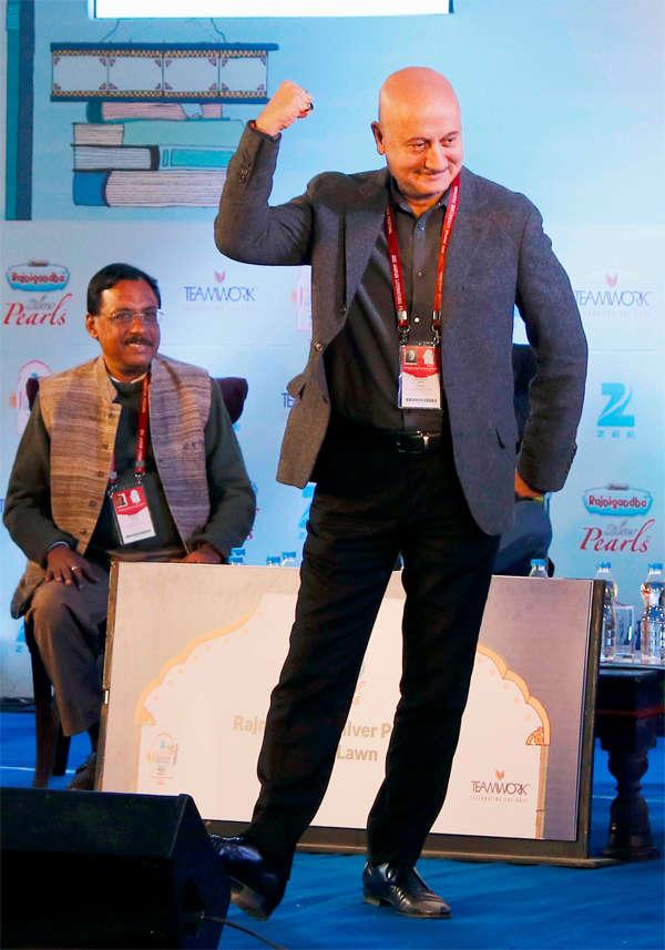 A war of words between Anupam Kher & Kapil Mishra at Jaipur Literature Festival over intolerance