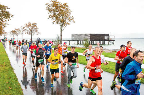 Racing on: Now, run marathon from three different countries at the same time