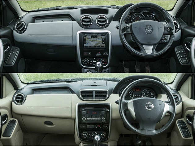 Duster and Terrano interior