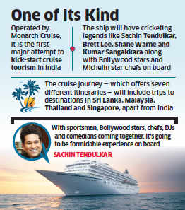 Cruise tourism in India: Luxury ship themed on cricket, entertainment to set sail from 2017