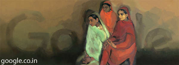 Google doodle pays tribute to Amrita Sher-Gil on her 103rd birth anniversary
