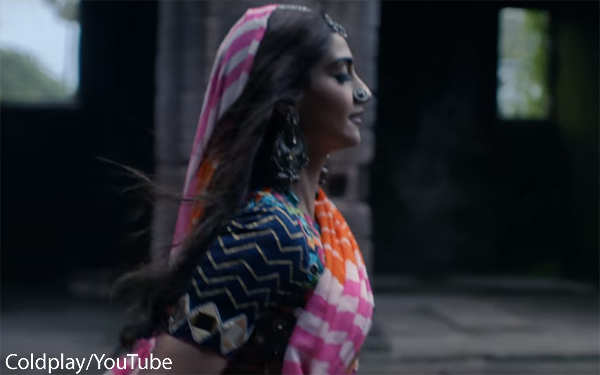 'Coldplay' music video featuring Sonam Kapoor draws flak for 'stereotypical' portrayal of India