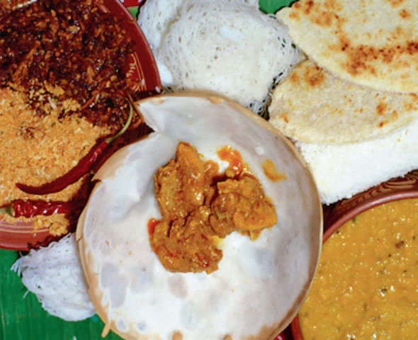 Sri Lankan food, a spell-binding mishmash of the island's history
