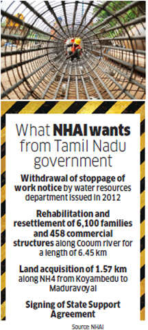 Big-ticket infra project: Why an ambitious Chennai Port-Maduravoyal Expressway has been stalled