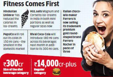 Food companies like Hindustan Unilever, PepsiCo cut calorie counts to serve health-conscious buyers