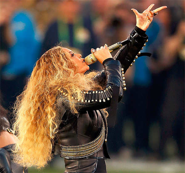 Beyonce slays at Super Bowl, steals the show with new political song 'Formation'