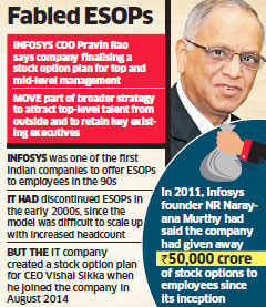 Infosys to offer incentive to select executives in a bid to attract and retain talent