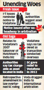 Vodafone sees disconnect between government and I-T department over notice to pay Rs 14,200 crore