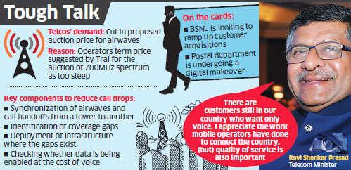Won't give free spectrum to telecom operators: Ravi Shankar Prasad