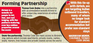 Thomas Cook India inks pact with Airbnb to offer unique stay options for Indian outbound travellers