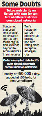 Mobile operators urge Trai to clear the air on app-based pricing