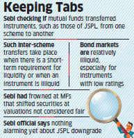 Sebi checking if MFs dressing up portfolios to shield low-rated debt paper