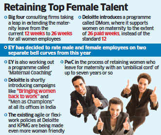 Deloitte declares 26 weeks of maternity leave for women employees; PWC, EY, KPMG to follow suit