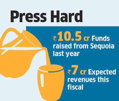 Sequoia Capital leads Rs 31 crore funding round in Raw Pressery