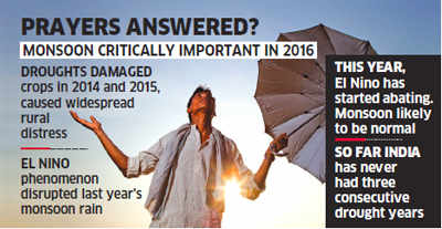 Normal monsoon likely after a gap of two years