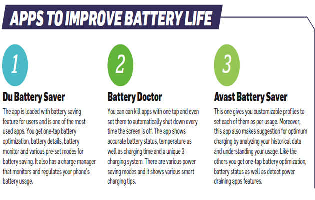 How to increase your smartphone's battery life - The
