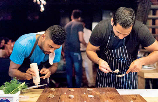 Experimental spaces led by chefs pushing culinary boundaries in a hush-hush manner