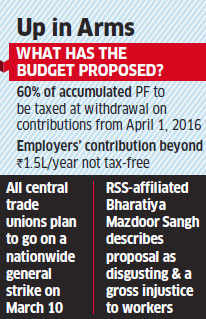 Labour ministry leads effort for PF tax rollback