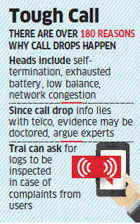 Telcos to monitor call drops, Trai may not have any external monitoring system