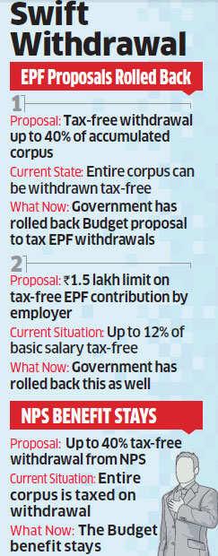 Budget 2016: FM Arun Jaitley rolls back proposal to tax EPF