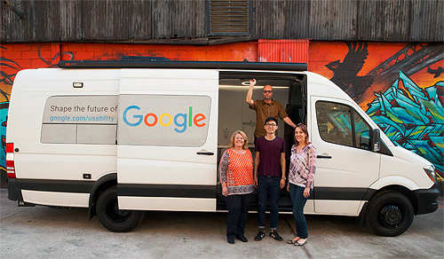 Google is literally hitting the road for user feedback