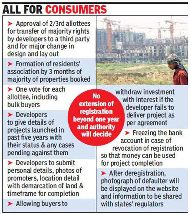 New real estate law likely to cover flats already sold