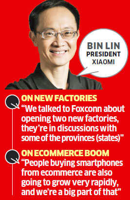 Xiaomi to set up 2 plants, launch more devices in India