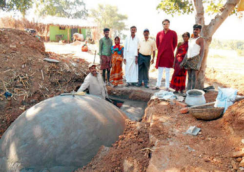 Siddarth Goenka helps villages fight global warming with biogas plants