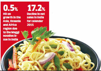 Maggi ban to hit Nestle show in Asia, Oceania and sub-Saharan Africa regions