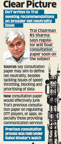 Trai asked to submit recommendations on net neutrality; government gears up to finalise policy