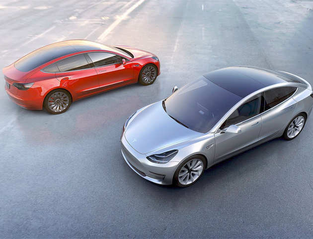 tesla to enter india with model 3 global rollout in 2017 the economic times. Black Bedroom Furniture Sets. Home Design Ideas
