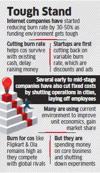 Startups like Flipkart, Snapdeal try to conserve money by reducing 'cash burn rate'