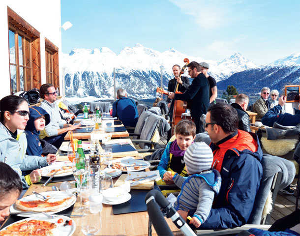 St Moritz is the glitziest Alpine playground to ski and luxuriate in spiffy hotels