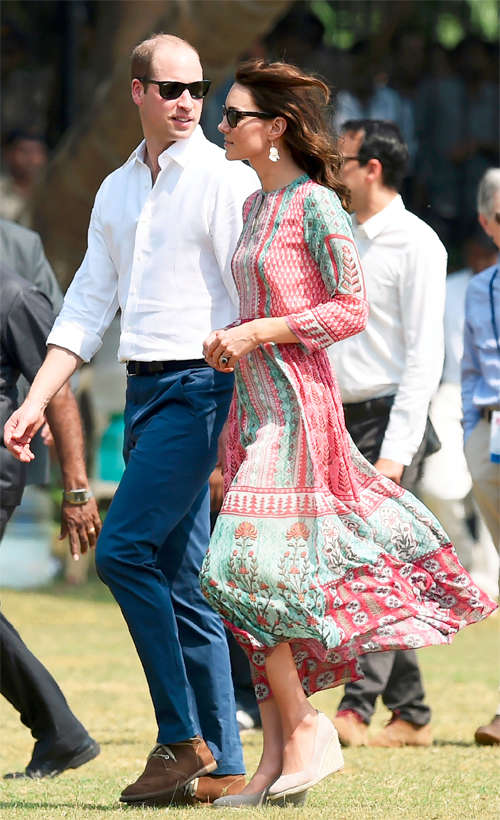 Kate Middleton impresses with her fashion choice, stuns in Anita Dongre creation