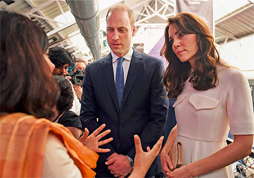 Riyaz Amlani's 'Social' gift to Will-Kate: 3D versions of Make-in-India & British Imperial lions