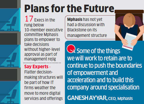 Mphasis CEO promises to ensure that its decentralised leadership style survives post Blackstone deal