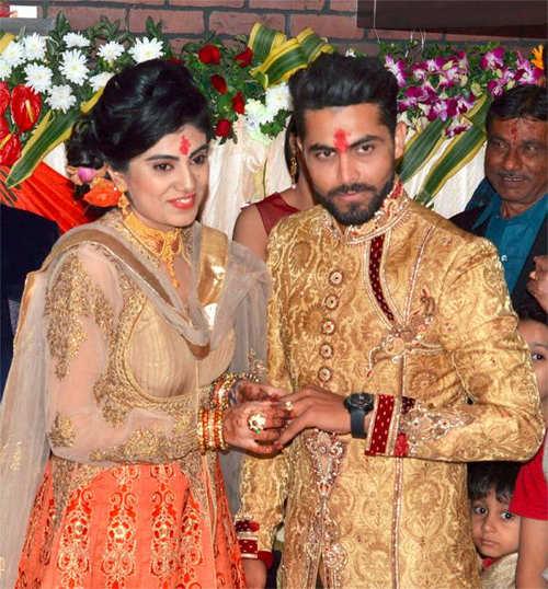 Ravindra Jadeja to tie the knot with Riva Solanki on Sunday