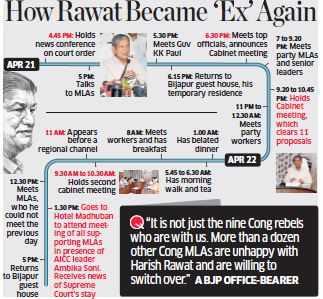 Uttarakhand: A battle of prestige for BJP after Supreme Court put stay on high court's order