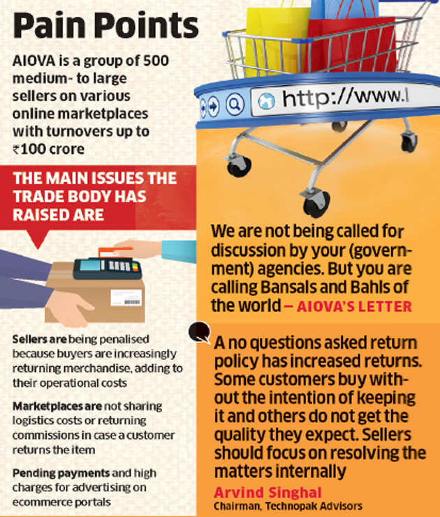 Why talk to only Flipkart, Amazon, Snapdeal? We need help too, online vendors tell PMO