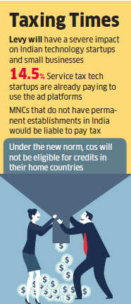 Proposed 6% equalisation levy will harm startups: IAMAI