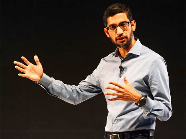 Google CEO Pichai sees the end of computers as physical devices