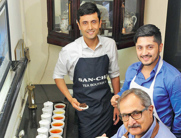 How next-gen from families of traditional tea businesses are trying to give cuppa a hipper twist