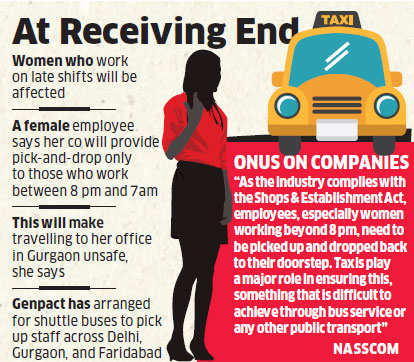 Women employees to bear brunt of ban on diesel cabs - The
