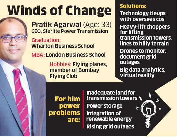 Sterlite Power CEO Pratik Agarwal sees technology as game changer